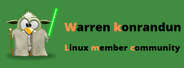 Warren konrandun: Discover my little blog on Linux